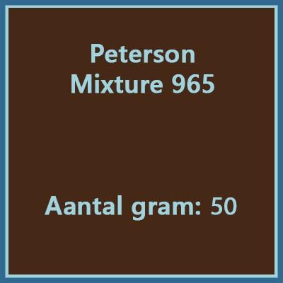 Peterson Mixture 965 50gr