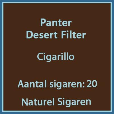 Panter Desert Filter 20 st.