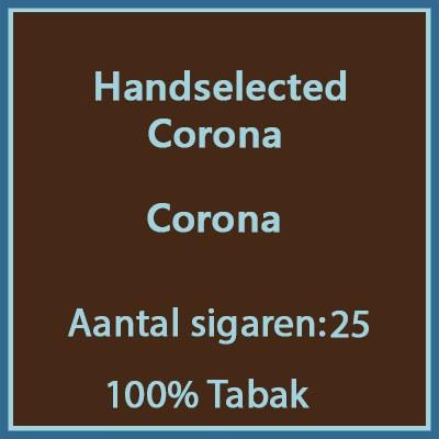 Handselected Corona 25st 100%