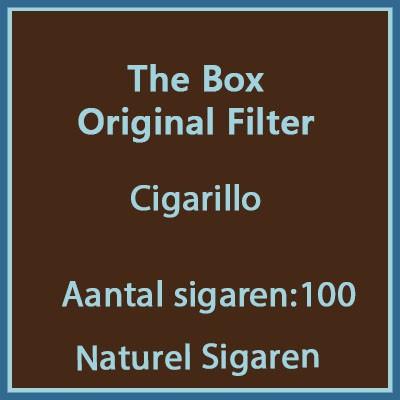 The Box Original Filter 100st