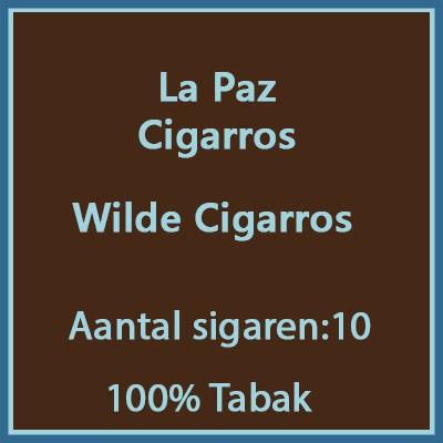La Paz Cigarros 10 st.