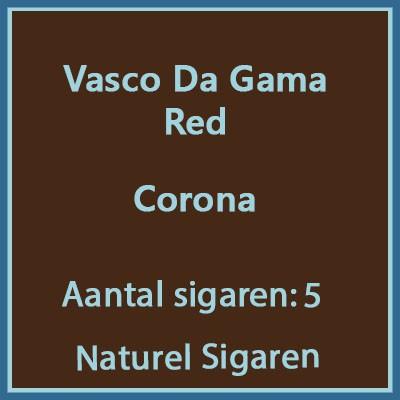Vasco da gama Corona Red 5 st.