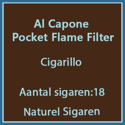 Al Capone Pockets Flame Filter 18 st