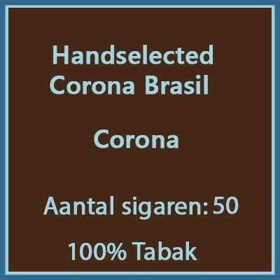 Handselected Corona brasil 50st 100%