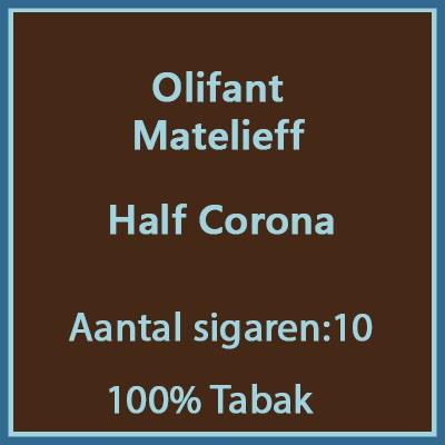 Olifant Matelieff 10 st.