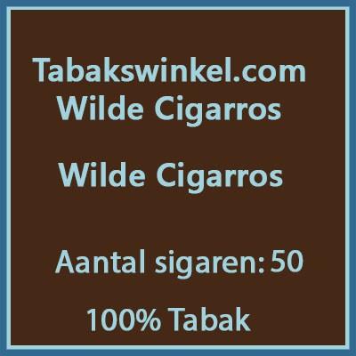 Tabakswinkel.com Wilde Cigarros 50st 100%