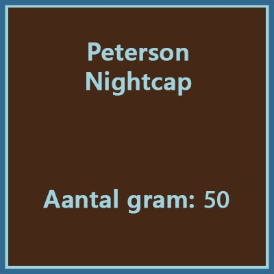 Peterson Nightcap 50gr