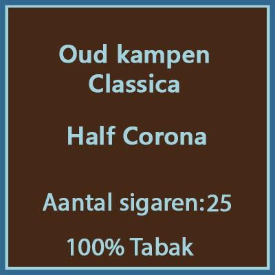 Oud kampen Classica 25 st.