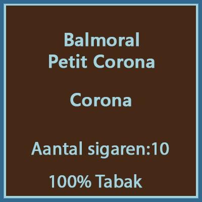 Balmoral Petit Corona 10 st.