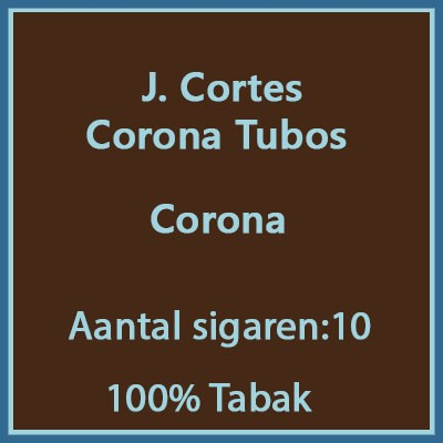 J. Cortes Corona 10 st. tubos