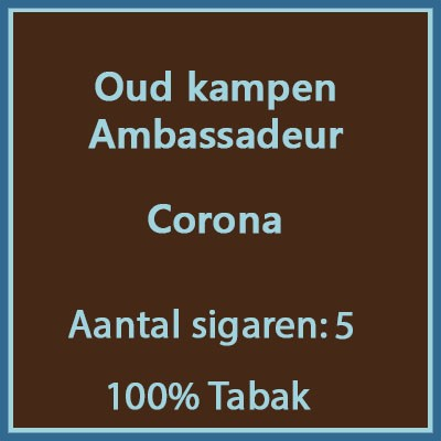 Oud kampen Ambassadeur 5st.