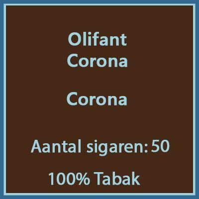 Olifant Corona 50 st.