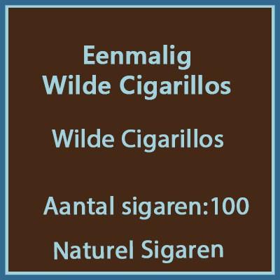 Eenmalig voordeel verpakking wilde cigarillos 100 st