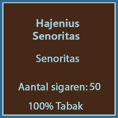 Hajenius Senoritas 50 st.