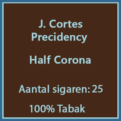J. Cortes Precidency 25 st.
