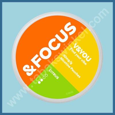 V&you &Focus Citrus 10mg/g