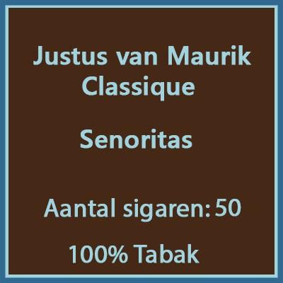 Justus van Maurik Classique 50 st.
