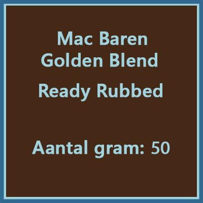 Mac baren Golden blend ready rubbed 50 gr