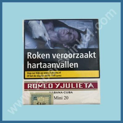 Romeo Y Jullieta mini 20 st