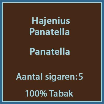 Hajenius Panatella 5 st.