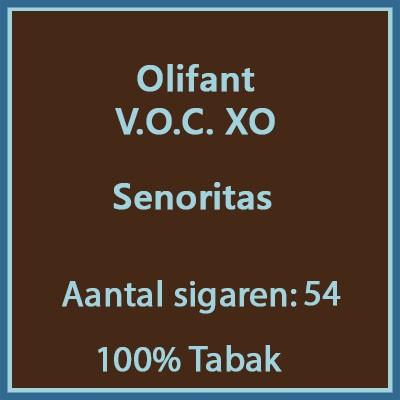 Olifant V.O.C. XO 54 st.