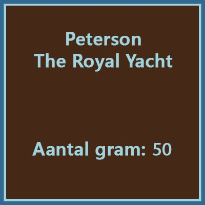 Peterson the royal yacht 50gr