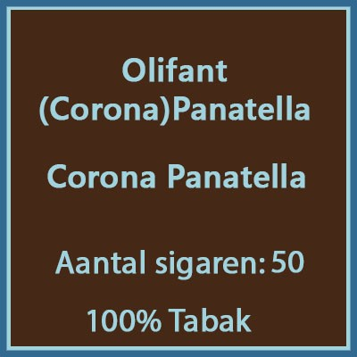 Olifant (Corona) Panatella 50 st.