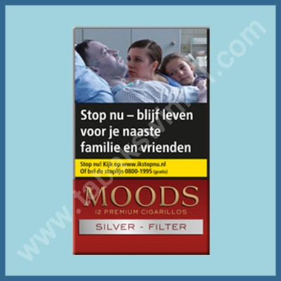 Moods Silver 12 st. Filter