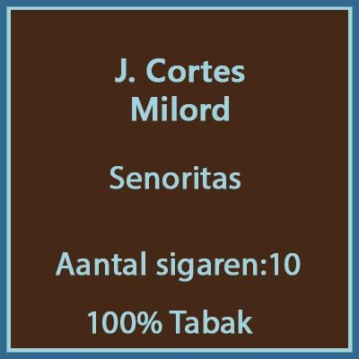 J. Cortes Milord 10 st.