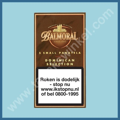 Balmoral Domenican Small panatela 5 st.