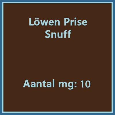 Lowen-prise snuff 10 mg