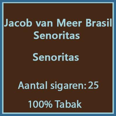 Jacob van Meer senoritas 25 st Brasil