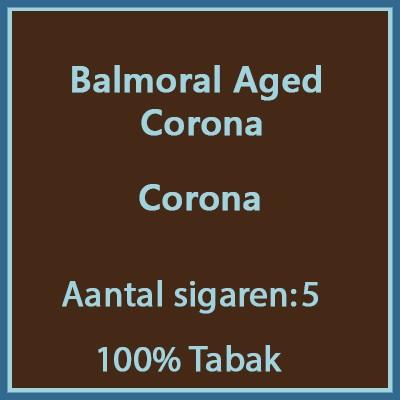 Balmoral Aged Corona 5 st.