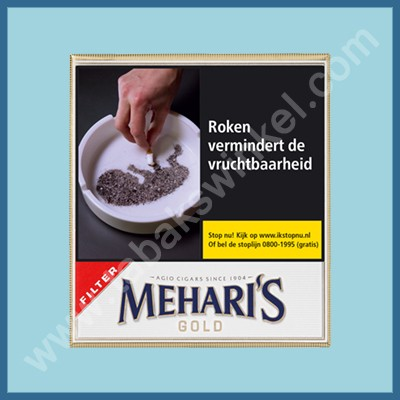 Mehari's gold filter 20 st.