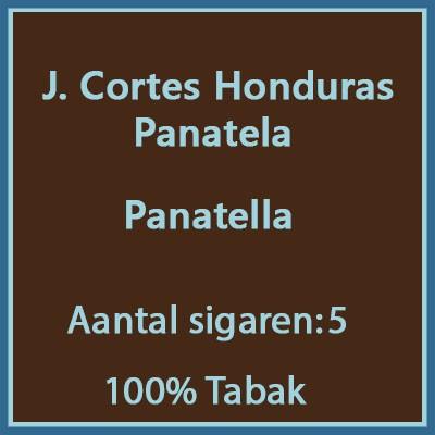 J. Cortes Panetela Honduras 5 st.