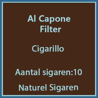 Al Capone Cigarillo Filter 10 st.