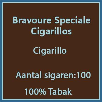 Bravoure Speciale Cigarillos100 st.
