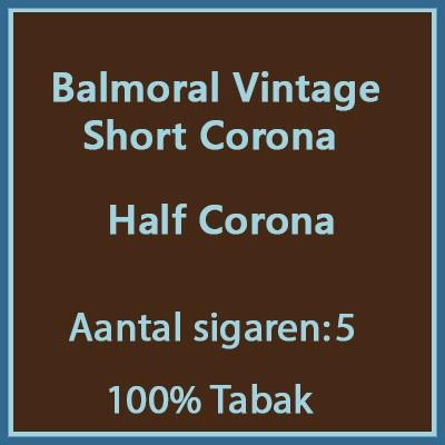 Balmoral Vintage Short Corona s st.