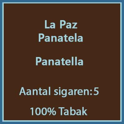 La Paz Panatela 5 st.