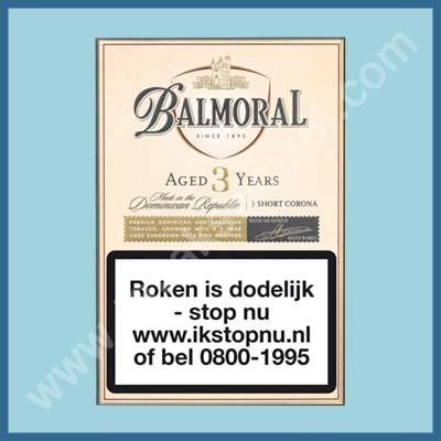Balmoral Aged Short Corona 5 st