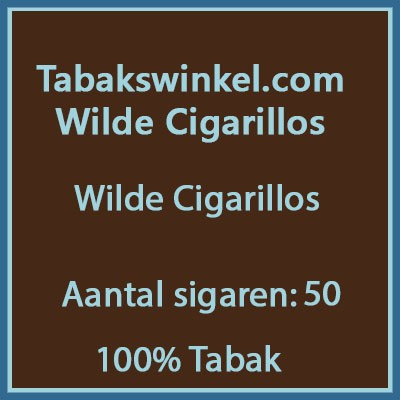 Tabakswinkel.com Wilde cigarillos 50st 100%