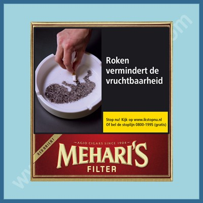 Mehari's Red Orient 20 st. Filter