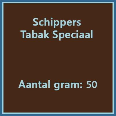 Schippers Tabak speciaal 50 gr