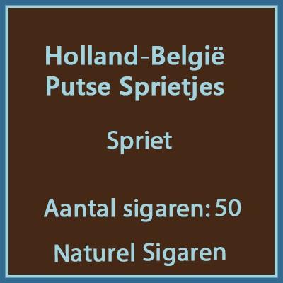 Holland-Belgie Putse sprietjes 50 st.
