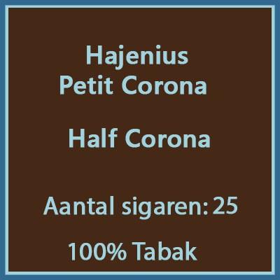 Hajenius Petit Corona 25 st.