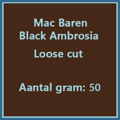 Mac baren Black ambrosia loose cut 50 gr
