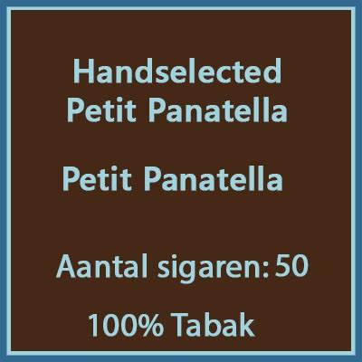 Handselected Petit panatella 50st 100%