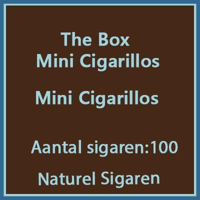 The box Mini Cigarillos 100 st.