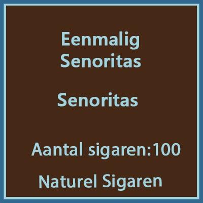 Eenmalig voordeel verpakking senoritas 100 st