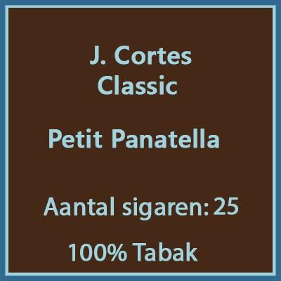 J. Cortes Classic 25 st.